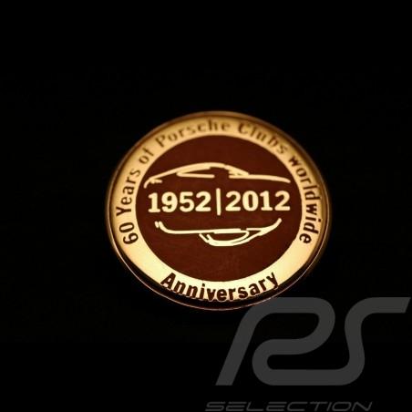 Pin 60 ans club Porsche