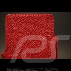Etui cuir rouge pour IPhone3 Porsche