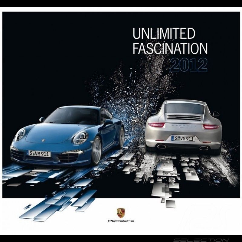 Calendrier Porsche 2012 Unlimited Fascination