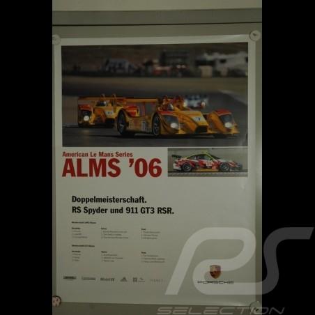 Affiche originale Porsche RS Spyder , 997 RSR,