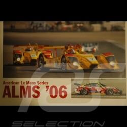 Affiche originale Porsche ALMS 2006