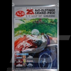 Reproduction affiche  Grand Prix Oldtimer 1997