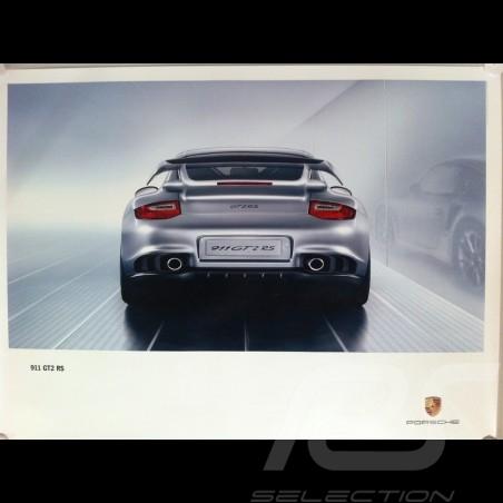 Affiche originale Porsche 997 GT2 RS