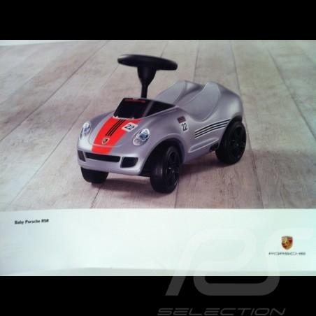 Affiche original Porsche RSR enfant