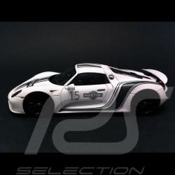 Porsche 918 Spyder Prototyp Martini n° 15 weiß 1/43 Spark WAP0201060D