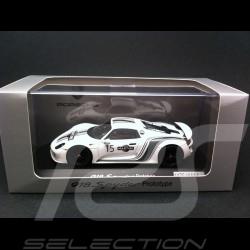 Porsche 918 Spyder Prototype Martini n° 15 blanche 1/43 Spark WAP0201060D