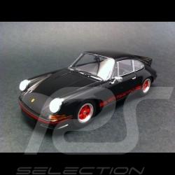 Porsche 911 Carrera RS 2.7 1972 noire bandes rouges Minichamps 1/43