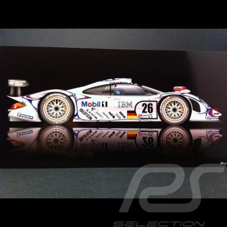 Carte postale Porsche 911 GT1 Le Mans 1998