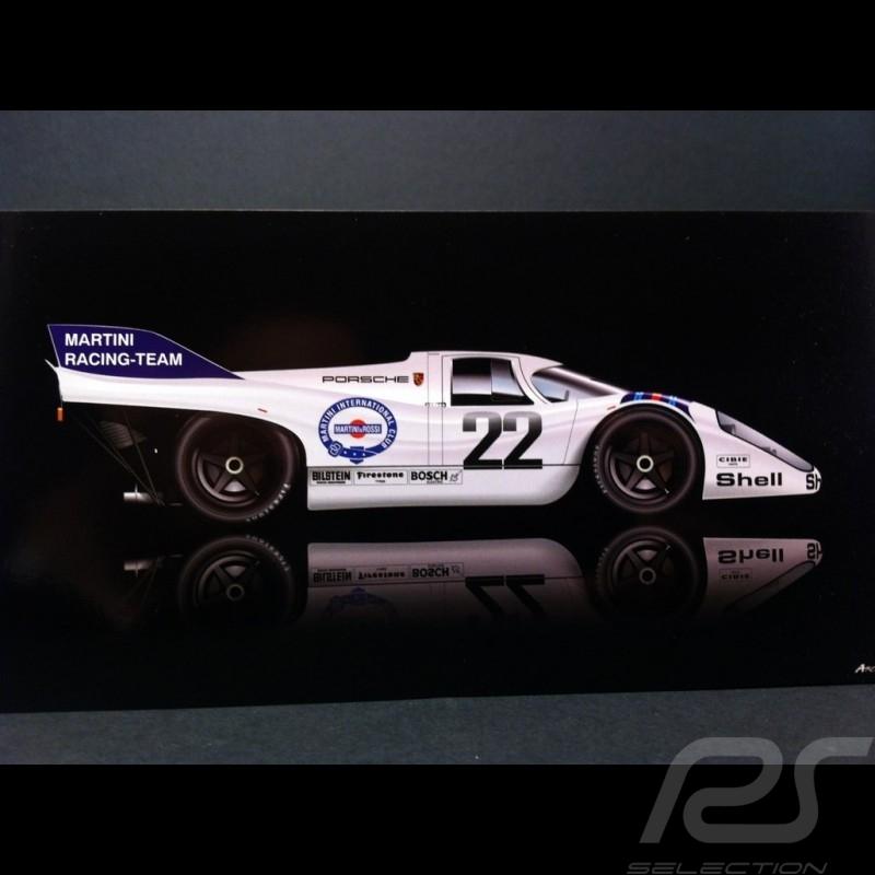 Carte postale Porsche 917 K Le Mans 1971