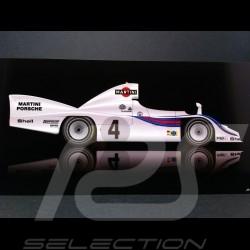 Carte postale Porsche 936 Martini Vainqueur Le Mans 1977 21 x 10.5 cm