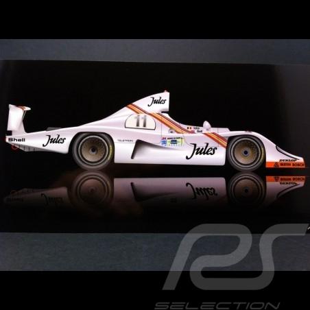 Carte postale Porsche 936 Vainqueur Le Mans 1981 21 x 10.5 cm