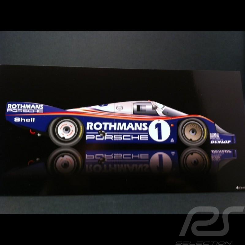 Carte postale Porsche 956 Le Mans 1982
