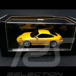 Porsche 911 type 996 Carrera 4S Coupé 2001 gelb 1/43 Minichamps 400061071