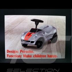Carte Postale Baby Porsche 14.5 x 10.5 cm