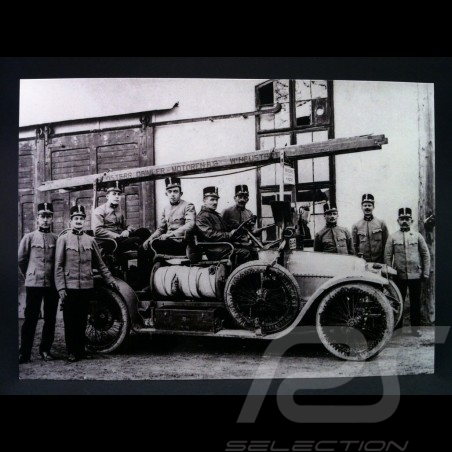 Carte Postale Austro Daimler pompiers Vienne 1912