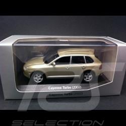 Porsche Cayenne Turbo 2002 beige 1/43 Minichamps WAPC20SET01