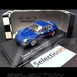Porshe 911 Carrera RSR 2.8 1973 bleue
