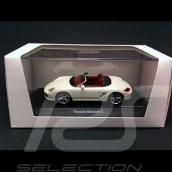 Porsche Boxster S 987 blanc PTGP 2009 1/43 Schuco MAP09504008