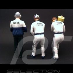 Set figurines Martini Racing TrueScale 1/18