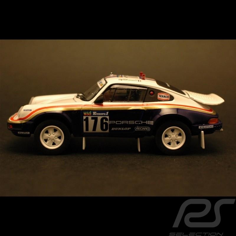 Porsche 911 Rallye Paris Dakar 1984 n°176 1/43 Norev