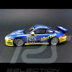 Porsche 996 GT3 Cup Manthey Racing 2004 n° 620 1/43 Minichamps MM996AC620VLN04