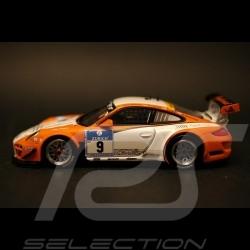 Porsche 997 GT3R hybrid Nürburgring 2010 n°9 1/43 Minichamps 436108909