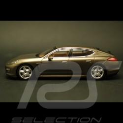 Porsche  Panamera 4 brun topaze 1/43 Minichamps WAP02000319
