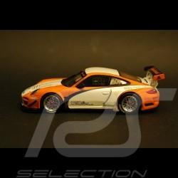 Porsche 997 GT3 R Hybrid blanche-orange 1/43 Minichamps WAP0201170C