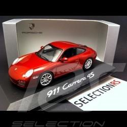 Porsche 911 type 997 Carrera 4S Coupé red 1/43 Minichamps WAP02001718