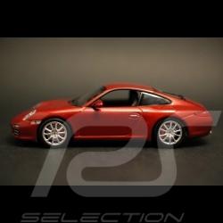 Porsche 997 Carrera 4S Coupé rouge 1/43 Minichamps WAP02001718