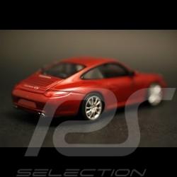 Porsche 911 typ 997 Carrera 4S Coupé rot 1/43 Minichamps WAP02001718