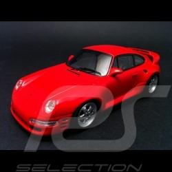 Porsche RUF CTR2 Sport rouge 1996