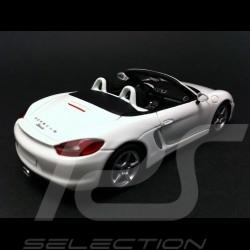 Porsche Boxster 981 2012 white 1/43 Spark S3394