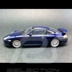 Porsche 911 type 996 GT3 1999 bleu indigo 1/43 Minichamps 430068009