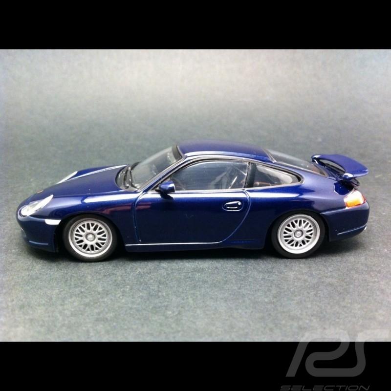 porsche 911 type 996 gt3 1999 indigo blue 1 43 minichamps 430068009 selection rs. Black Bedroom Furniture Sets. Home Design Ideas