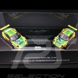 Set Porsche 997 GT3 RSR Manthey Nürburgring 2011 n°18 1/43 Spark MM997AC24h2011S