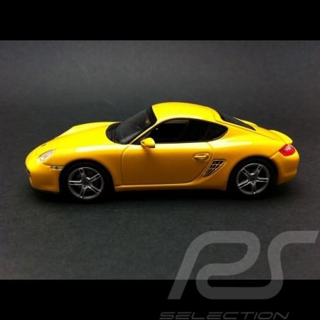 Porsche Cayman S (987) jaune Linea Giallo 2005