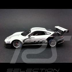 Porsche 911 type 991 GT3 Cup 2013 white / black 1/43 Spark WAP0201160D