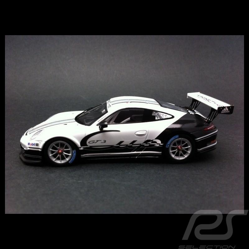 Porsche 911 type 991 GT3 Cup 2013 blanche / noire 1/43 Spark WAP0201160D
