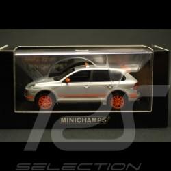 Porsche Cayenne Transsyberia 2007 argent