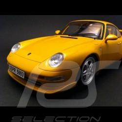 Porsche 993 RS jaune 1/18 GT Spirit GT005ZM