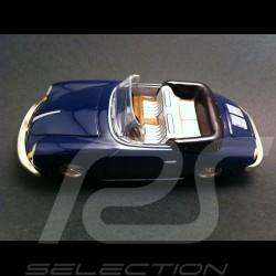 Porsche 356 Carrera 2 Cabriolet 1962 bleue  TinMen TM20104000110