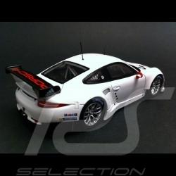 Porsche 991 RSR 2013 blanche 1/43 Spark WAX20130011