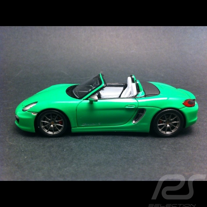 Porsche Boxster S 981 2013 vert 1/43 Spark WAX20130021