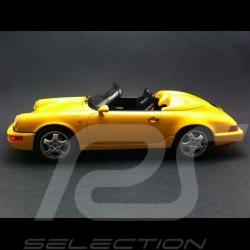 Porsche 964 Speedster jaune 1/18 GT Spirit GT008CS