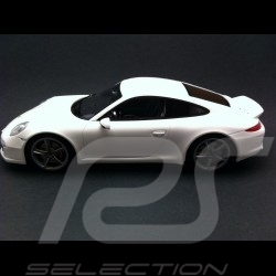 Porsche 911 type 991 Carrera S Sport Design blanc Carrara 1/18 GT Spirit GT007ZM