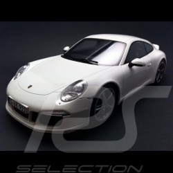 Porsche 911 type 991 Carrera S Sport Design Carrara white 1/18 GT Spirit GT007ZM