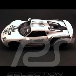Porsche 918 Spyder Martini white 1/18 Spark WAP0210220E