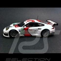 Porsche 991 GT3 RSR 50 ans 911 n°92 1/43 Spark WAX20130012