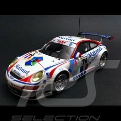 Porsche 997 GT3 RSR n°76 Matmut LM 2008 1/43 Minichamps MAP02095213
